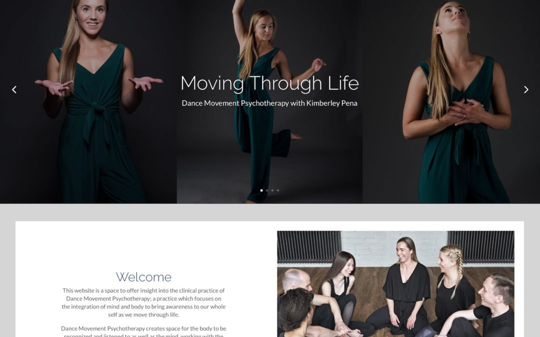 New Client Website – Moving Through Life