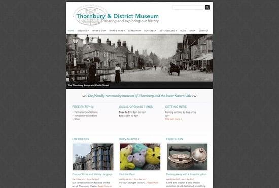 Thornbury Museum Website